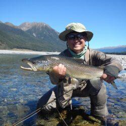 Dr. Peter Lu Enjoying Fishing